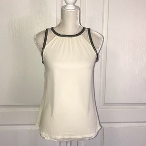 NWT Express white/cream blouse